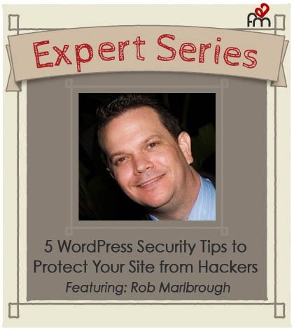 Rob WP security Expert Series BWF Blog Image