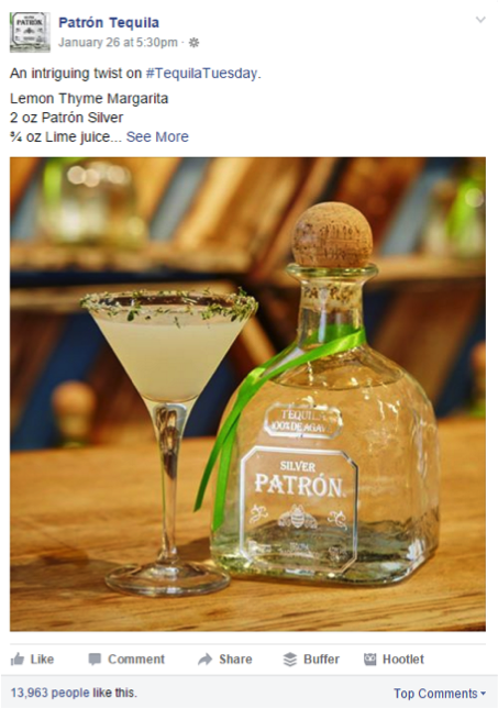 Patron Tequila Instagram Tequila Tuesday
