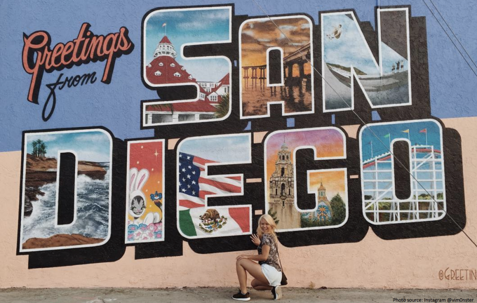 San Diego's top Instagram Worthy Locations