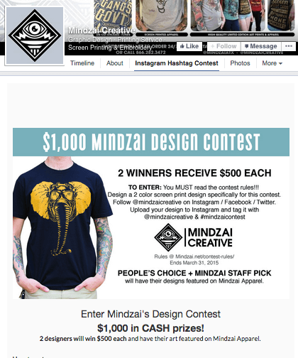 Mindzai Creative Contest Design