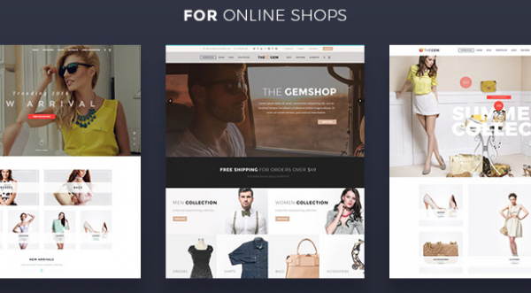 TheGem Theme and top ten wordpress themes for business