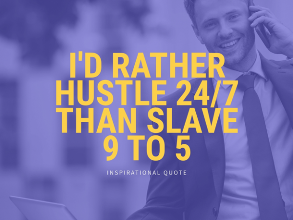 hustle quote